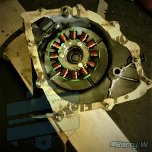 Performance Magneto Alternator Stator Coil :: Hyosung GT125 GV125 GT250 GV250 RT125 RX125