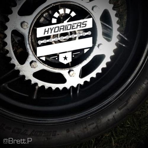 Hyosung gt125r gt250r Chain & Sprocket Kit gt125