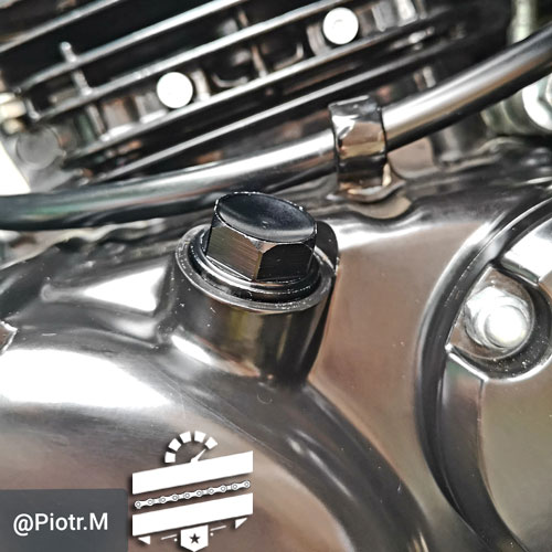 Hyosung Oil Filler Cap Plug