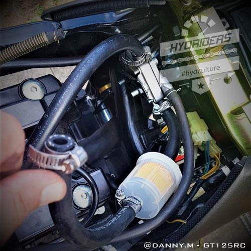 uprated \u0026 braided fuel line big filter kit hyosung gt125 \u0026 250 {carby models} Hyosung 250 Fuel Line Diagram hyosung 250 fuel line diagram