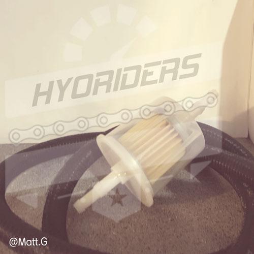 Big Filter Kit hYOSUNG FUEL LINE EFI GV CARB 125 250 GTR GV