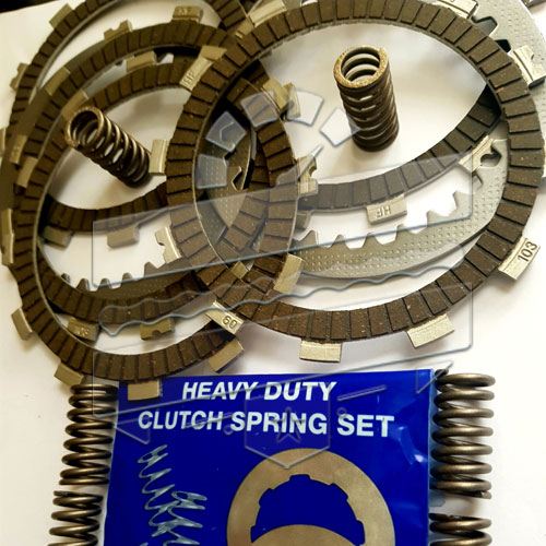 Clutch Plates Friction Drive Overhaul Kit - Hyosung GT125R GV125 GT125 XRX125 RT125D GA125