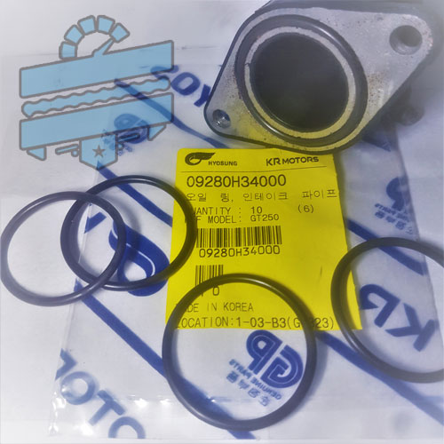 Intake Pipe O-RING x2 {Inlet Boot Seals} - Various Hyosung 125 250 | UK