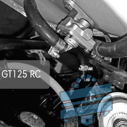 Aftermarket Vacuum Fuel Tap (Petrol Gas Petcock) :: Hyosung GT125R GT250R  GT650R