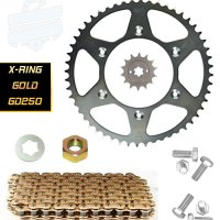 Premium Chain & Sprocket Kit Hyosung GD250R & N (X-Ring) | HyoRiders