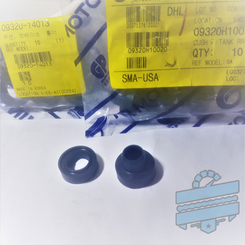 LOWER Fuel Tank Cushion (Rubber Dampers) - Hyosung Various GT GTR GV Models
