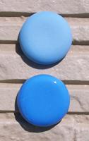 オリジナル陶器表札開運風水八角ベース色ブルー