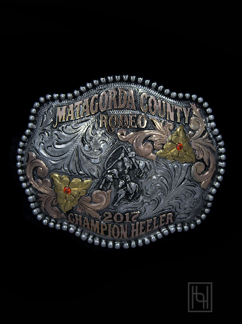 Crockett Belt Buckle Custom Belt Buckles By Hyo Silver