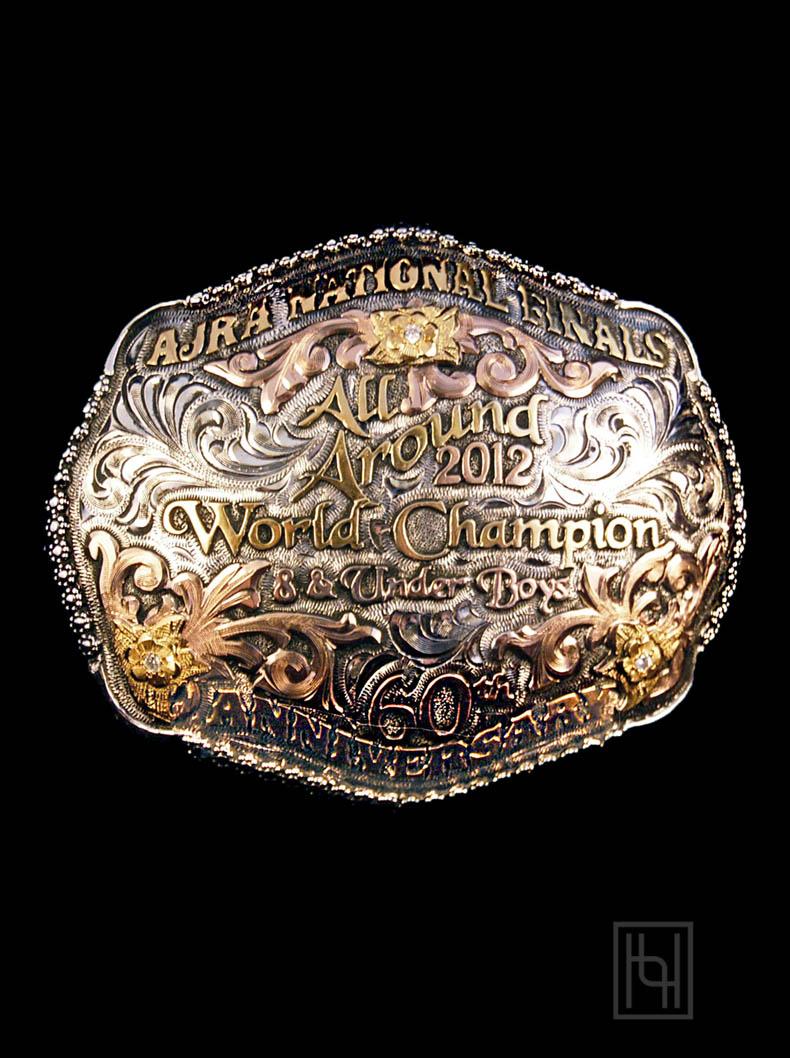 Utah With Berry Edge Belt Buckle Custom Trophy Buckles By