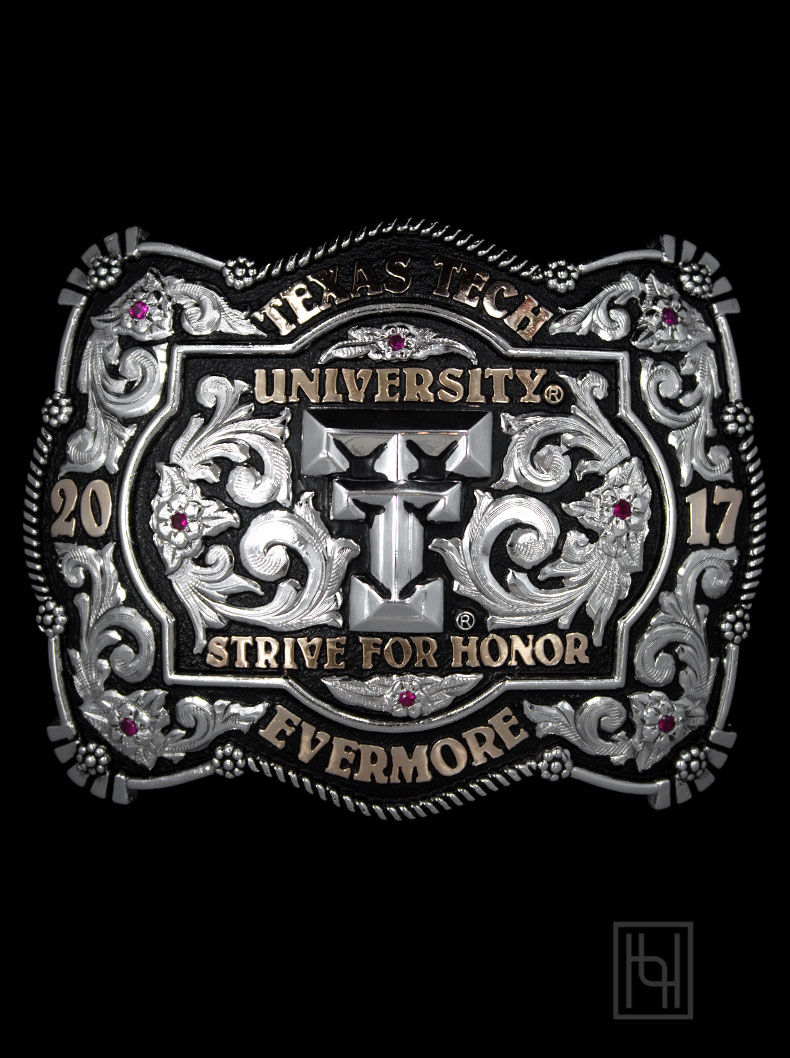 Gusto Belt Buckle Custom Buckles By Hyo Silver