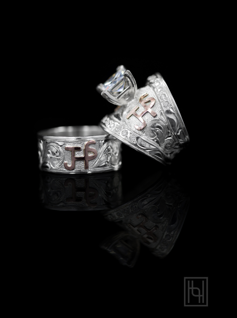 Romance Forever Ring Set Custom Rings By Hyo Silver
