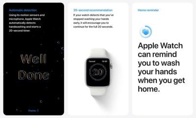 Apple Watch WatchOS 7'de El Yıkama Zamanlayıcısı Nasıl Etkinleştirilir