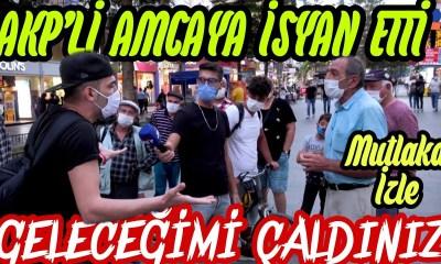Gençlerin AKP'li Adama İsyanı; Bizim Geleceğimizi Çaldılar! (Video)
