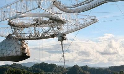 Dünyanın En Büyük Teleskoplarından Biri Saniyeler İçinde Yıkıldı