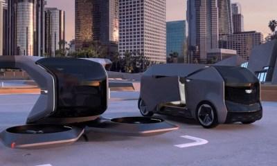 General Motors Uçabilen Sürücüsüz Otomobilini Tanıttı
