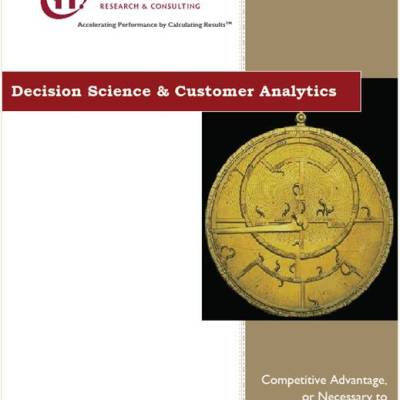 Capture, Analysis and Utilization of Customer Information