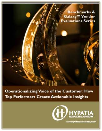 "Announcing 2014 Update to ""Operationalizing Voice of the Customer"""