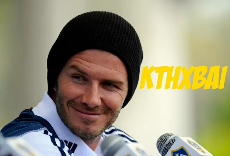 1989e95213 David Beckham Leaves L.A Galaxy