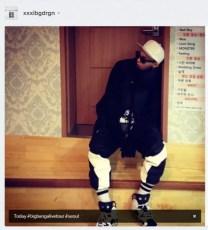 Alive GALAXY Tour Final Seoul Jiyong Backstage Instagram