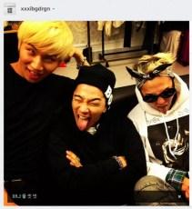 Alive GALAXY Tour Final Seoul Jiyong Daesung Taeyang Instagram