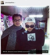 Alive GALAXY Tour Final Seoul John Lee Jiyong Instagram