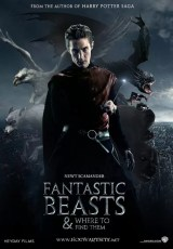 Fantastic Beasts and Where to Find Them fan poster by Hogward site
