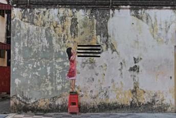 Jalan Bandar Timah Street Art Ipoh Old Town