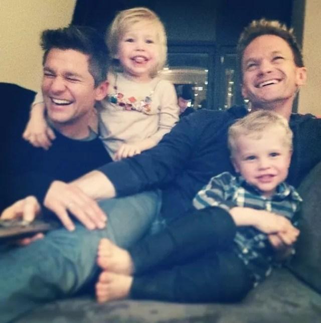 Neil Patrick Harris David Burtka Family