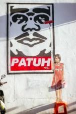 Patuh Street Art Kuala Lumpur
