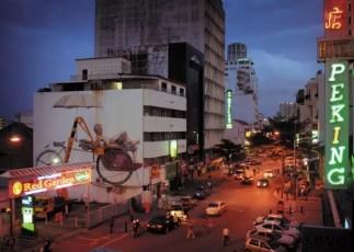 Trishaw Street Art Georgetown Penang