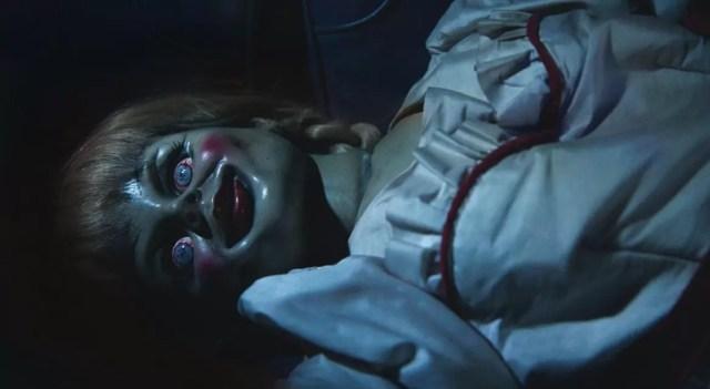 Annabelle possessed doll