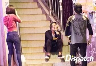 Dispatch - Kiko Mizuhara taking pictures of G-Dragon