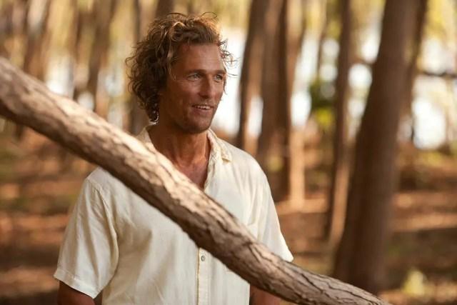 Matthew McConaughey in the movie Mud