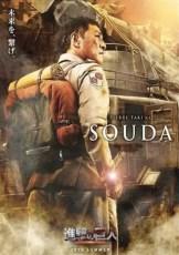 Attack on Titan Pierre Taki as Souda