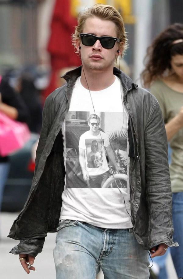 Ryan Gosling Macaulay Culkin T-Shirt