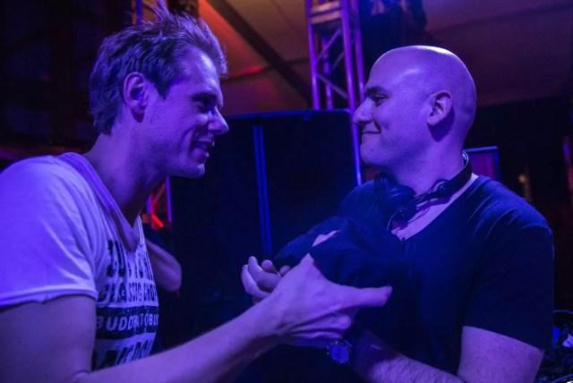 Fadi (Aly & Fila) & Armin van Buuren. (Source: weloveatrance.com)