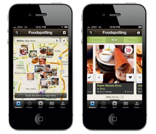 Foodspotting App
