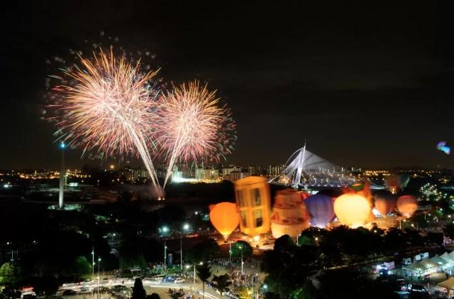 Night Glow & Fireworks