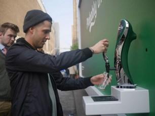 Carlsberg Drinkable Ad London