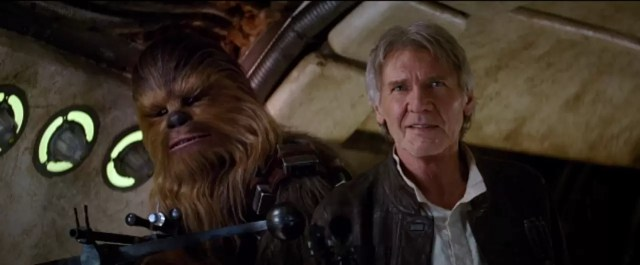 Star Wars The Force Awakens - Han Solo and Chewbacca