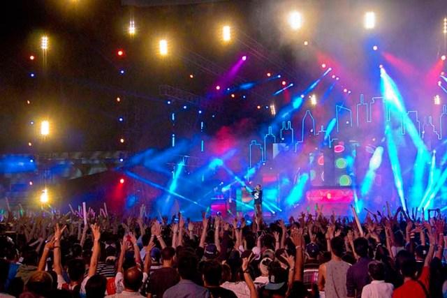 DJ Cash Money at MTV Music Evo 2015