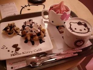 Hello Kitty Cafe Meal Korea