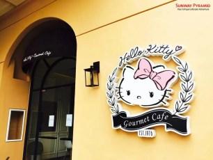 Sunway Pyramid Hello Kitty Cafe 2
