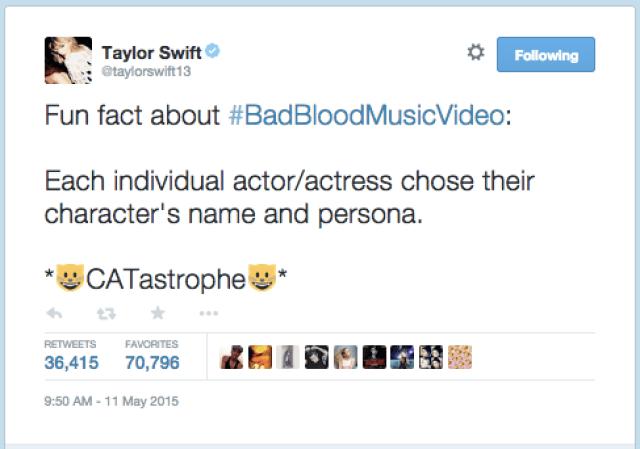 Source: Taylor Swift's Twitter