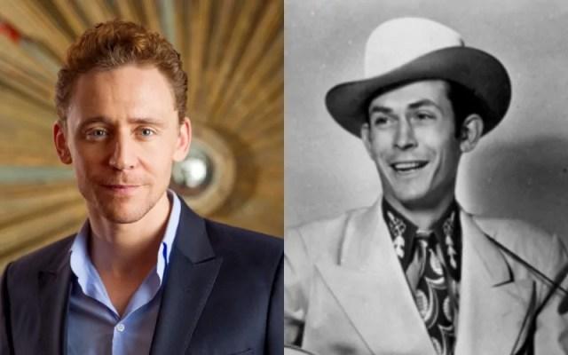 Tom Hiddleston as Hank Williams