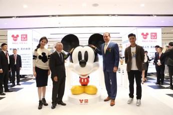 (From left) Nini_Tadashi Yanai_Paul Candland_Chen Kun