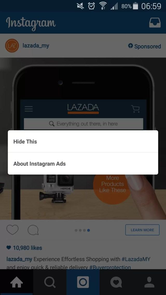 Lazada Instagram Ad 5