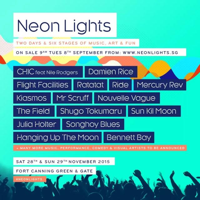 Neon Lights Singapore