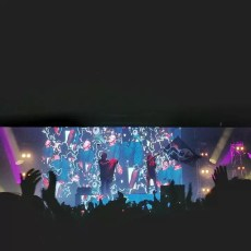 Skrillex Live in KL with Mija