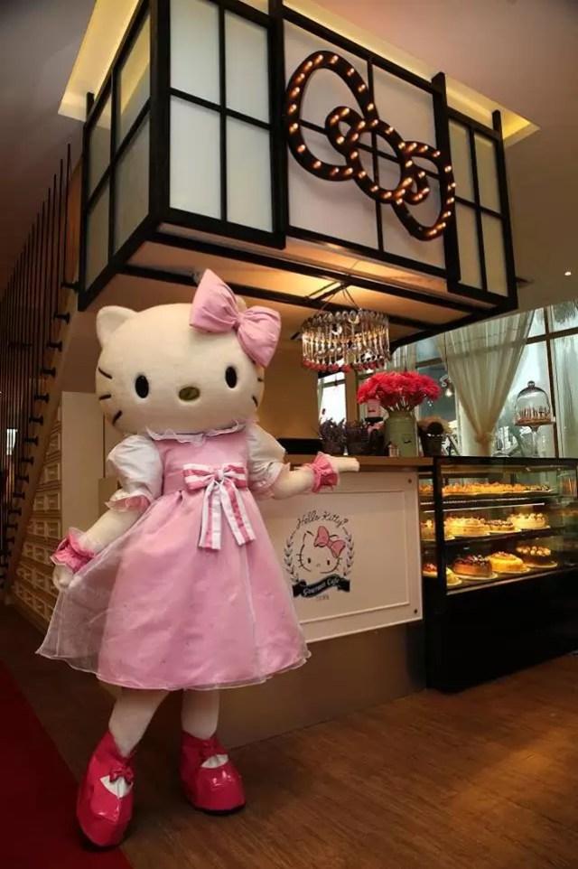 Hello Kitty Gourmet Cafe Sunway Pyramid 2015